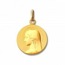 Médaille vierge auréolée