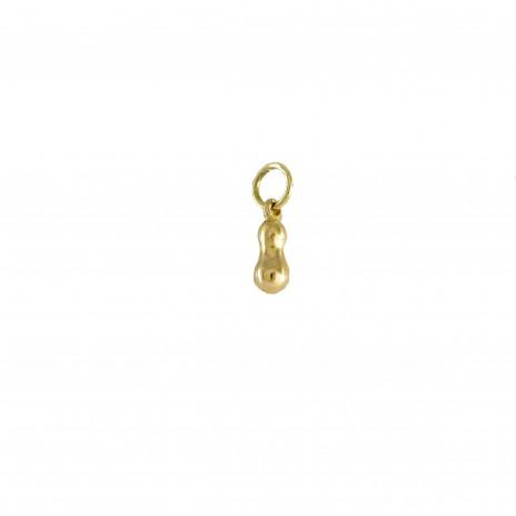 Larme or jaune pendentif moyen modèle