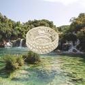 Pin's argent Arènes de Nîmes