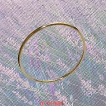 Bracelet jonc massif fil rond