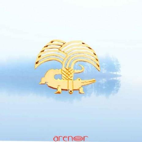 Pin's or jaune de Nîmes