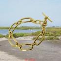 Bracelet mailles ovales longues
