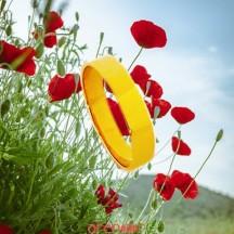 Alliance ruban 4mm or jaune