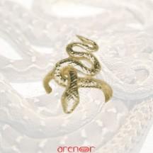 Bague serpent Cléopatre