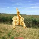 Pendentif Jaquetille en or jaune