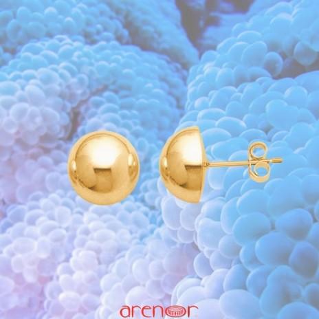 Boucles d'oreilles boules 8mm