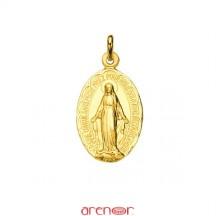 Médaille Vierge de Lourdes