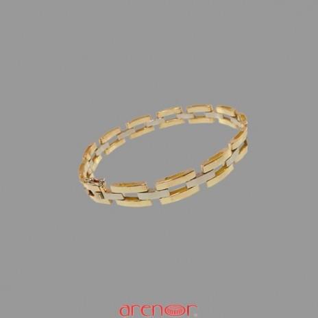 Bracelet 3 mailles articulées