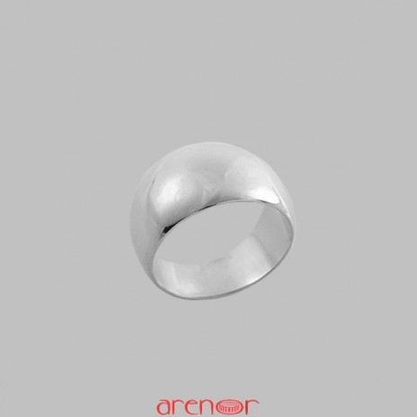 Chevalière anneau romain or gris