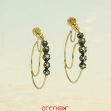 Boucles d'oreilles jeannette provençale
