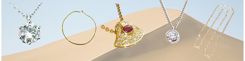 Collier or et diamant