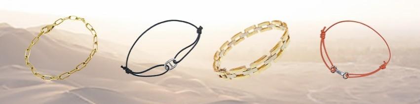 Bracelets mailles souples